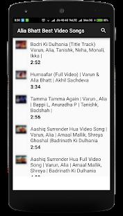 Alia Bhatt Best Video Songs - náhled