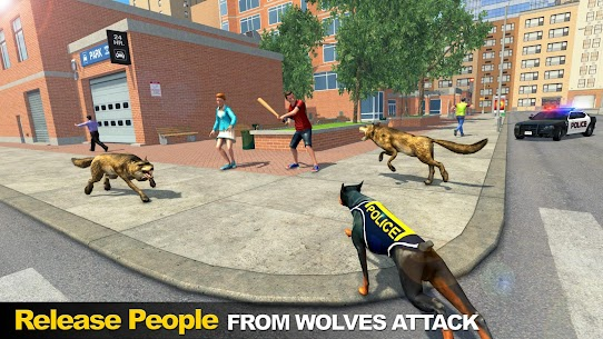 Police Dog vs Wild Wolves 8
