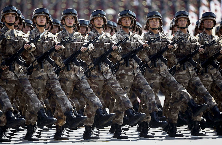 Chinese troops. File Picture: REUTERS/ROLEX DELA PENA