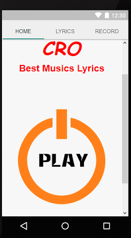 how to create a lyric video on android