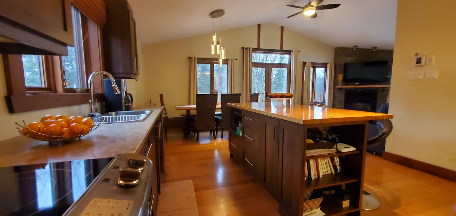 Cottages for rent for 9 people in Quebec #7