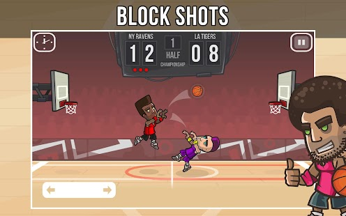 Basketball Battle- screenshot thumbnail