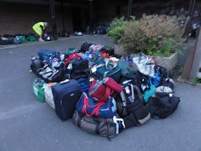 Photo: De bagage die al terug mag