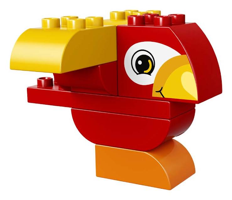 Contenido de Lego® 10852 Mi Primer Pájaro