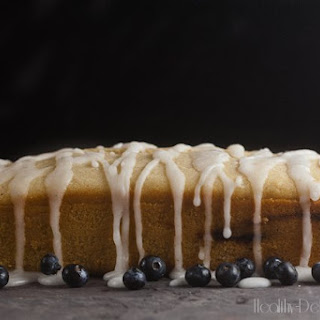 Blueberry-Lavender Coffee Cake