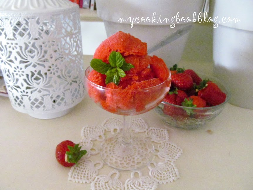 Сорбе (Sorbet) от ягоди