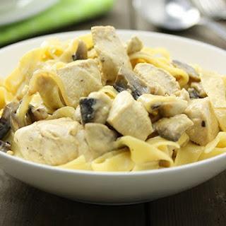 Chicken & Mushroom Fettuccini