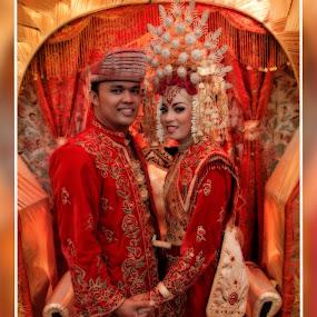 minangkabau's wedding by Irfan Andariska - Wedding Bride & Groom