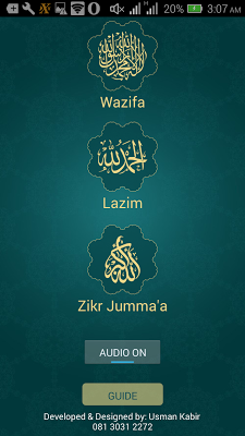 Wazifa - screenshot