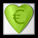 Financial simulator icon