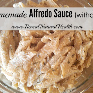 Easy Homemade Alfredo Sauce Without Cream.