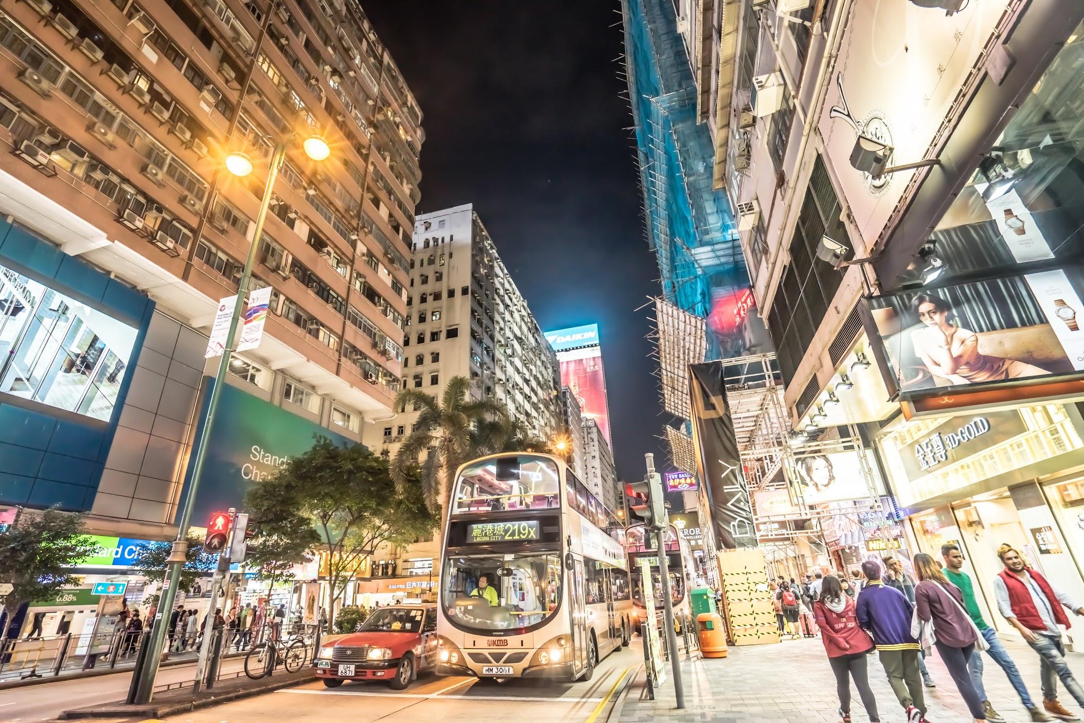 香港 尖沙咀 夜景1