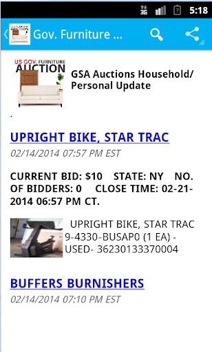 Gov. GSA Household and Furniture Auctions All USA cheat hacks