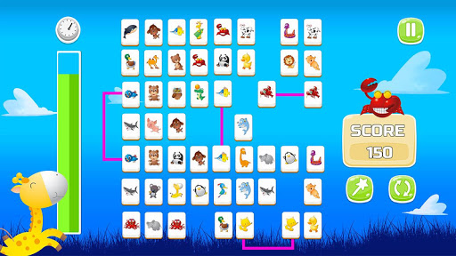Connect Animals : Onet Kyodai (puzzle tiles game) 3 screenshots 8
