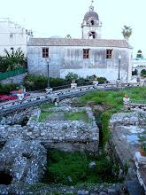 Photo: Sant Pancrazio Church on ancient Graeco Roman temple site, Taormina