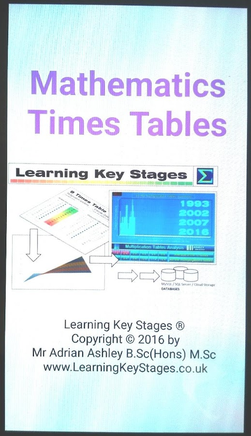 Times Tables Prototype v1- screenshot