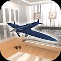 脱出ゲーム パパの飛行機模型 icon
