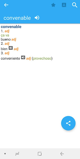 collins spanish<>french dictionary screenshot 1″ /></p> <p>You can switch to 9.1.302 for better performance and usage. This mobile app is offering the best features in the Books & Reference genre due to its exceptional design and a great concept followed by the developers. This app has more than 1 positive reviews on Google Play because it's one of the most widely used Android apps.</p> <p><img src=