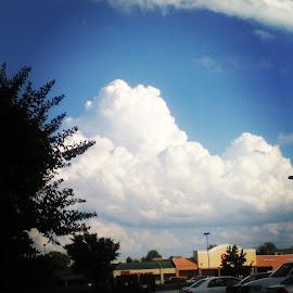 by Jennifer Durham - Landscapes Cloud Formations