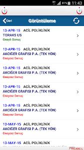 İzmir Göğüs H. Hastanesi Mobil screenshot 6