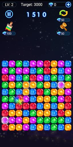 Pop Stone : Jewels Games Pop Star - blast match 3 1.4 screenshots 1