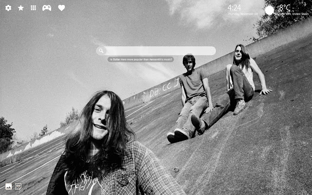 Kurt Cobain Wallpaper & Nirvana Theme HD