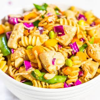 Chinese Chicken Pasta Salad.