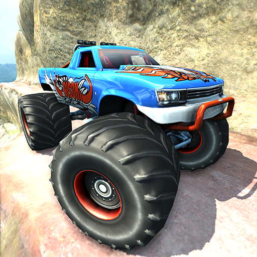 Monster truck hill simulator