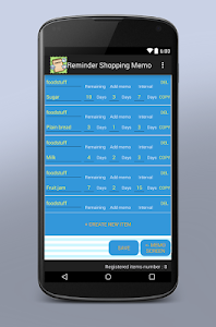 Reminder Shopping Memo screenshot 3