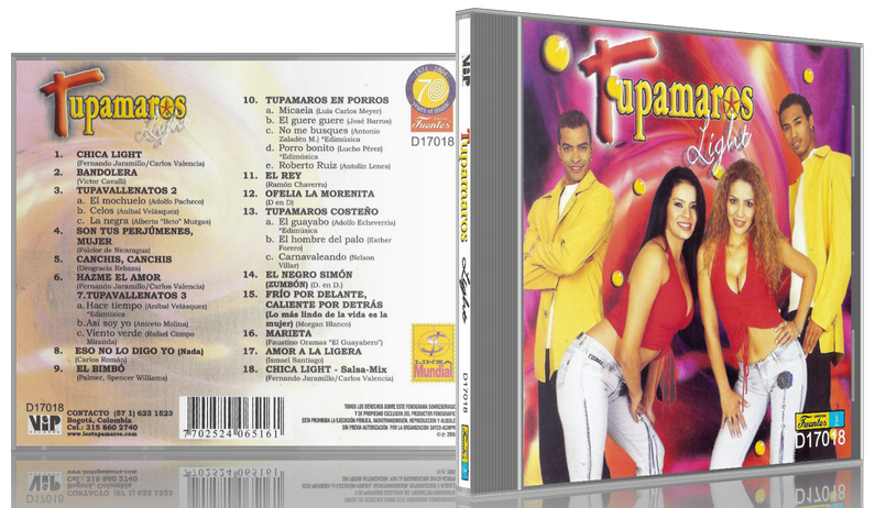 Los Tupamaros - Tupamaros Light (2004) [MP3 @320 Kbps]