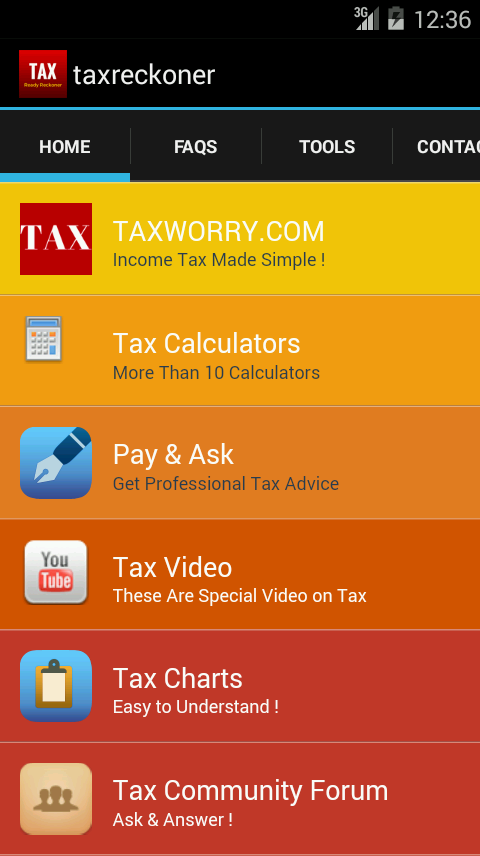 Income Tax Ready Reckoner- screenshot