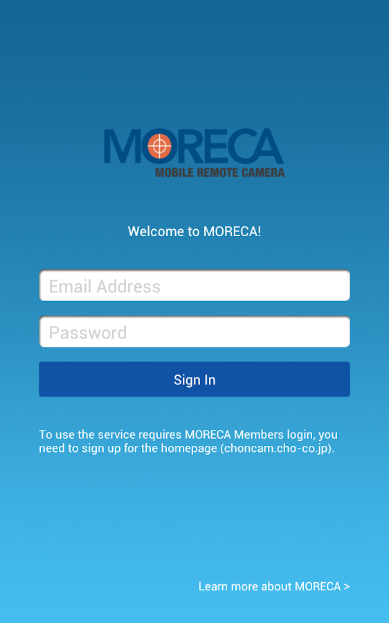 MORECA- screenshot