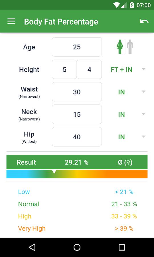 BMI Calculator – Weight Loss - screenshot