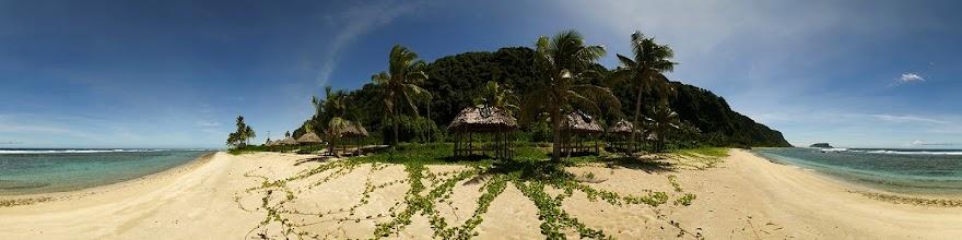 Photo: Samoa, Upolu Island, southern coast