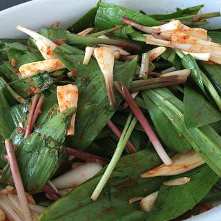 Mild Ramp Kimchi