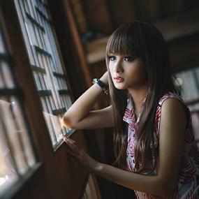 window light by Erwan Xu - People Fashion ( face, model, beauty, light )