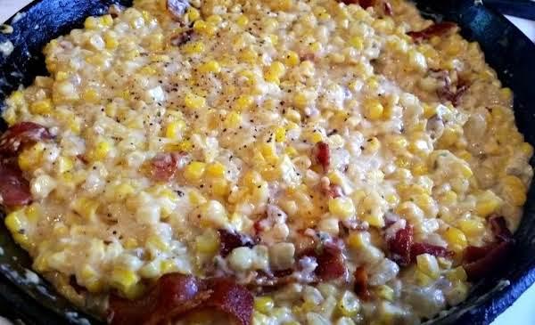 ~ Fried Corn, Cream & Bacon ~