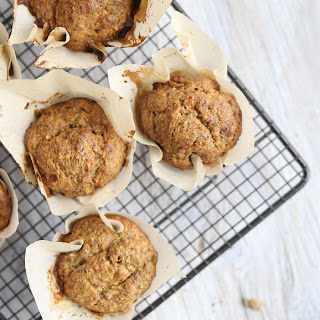 Healthy Banana Muffins With Flax Seed Recipes.