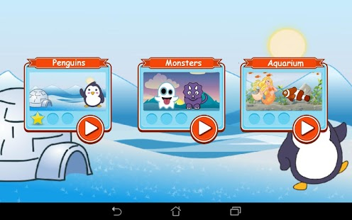 Pingu Memory für Kinder Screenshot