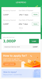 App LendPeso - Low-rate Cash and Credit Loan APK for Windows Phone