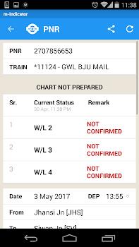 m-Indicator- Indian Rail MSRTC