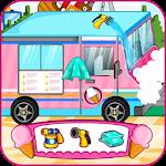 Ice cream truck car wash Icon