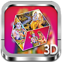 SitaRam 3D cube live wallpaper icon