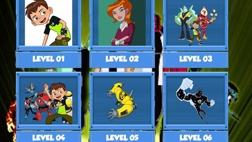 BEN 10 Game - Find the Pair - screenshot