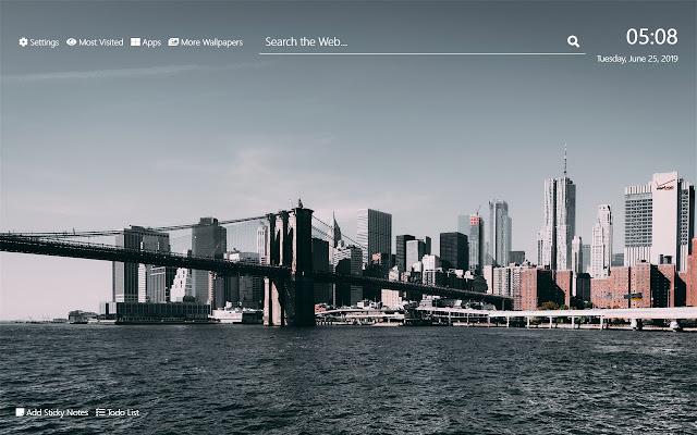Brooklyn Wallpaper Hd New Tab Theme