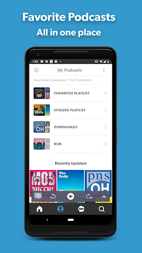 Stitcher Podcast Radio screenshot 1
