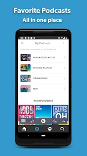 Stitcher - Podcast Player Screenshot