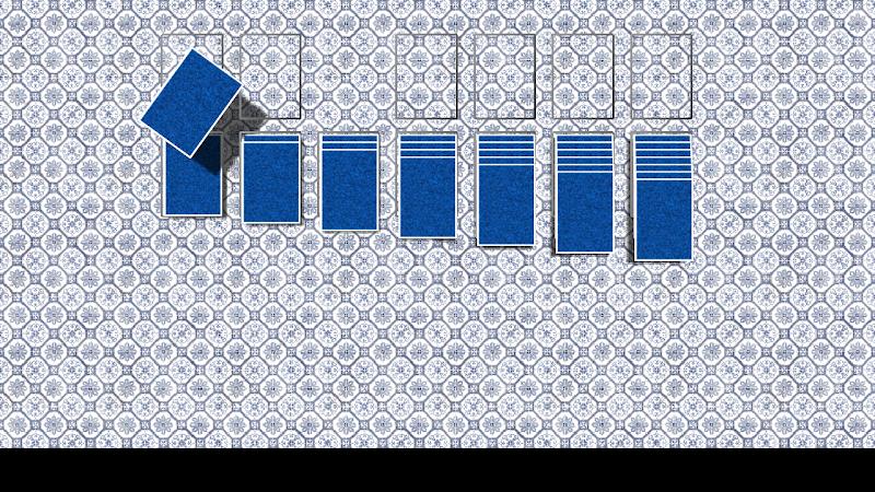 Скриншот Card game (Klondike/Solitaire)
