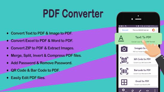Download Image to PDF Converter - JPG, PNG,GIF To PDF For PC Windows and Mac apk screenshot 1