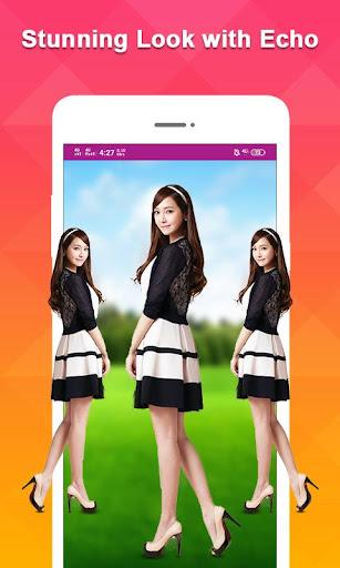 Echo Mirror Magic Photo Editor & Background Edit screenshot 1